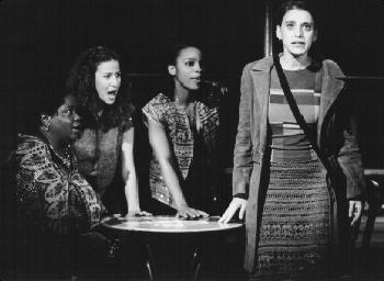 Aniko Noni Rose, Mandy Gonzales, Ronnell Bey and Judy Kuhn