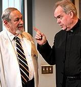 Larry Keith & Michael Mulheren in <i>The God Committee</i>