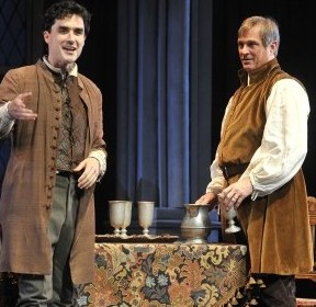 Tommy Schrider & Erick Hill in A Man for All Seasons