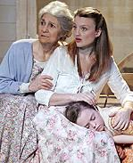 Lynn Cohen  Margot White and Quincy Confoy in <i>The Traveling Lady</i>